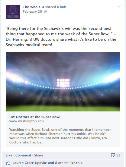 Super Bowl Seahawks Doctors