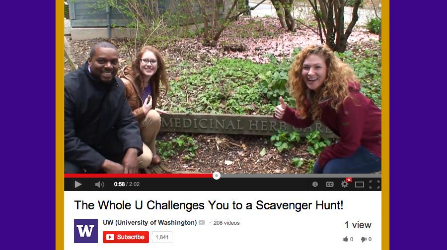 UW Scavenger Hunt
