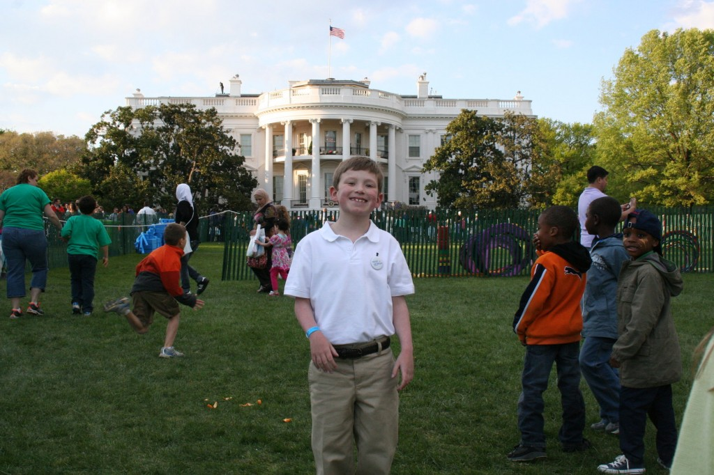 Wishes in Flight made Miles' dream of visiting the White House come true.