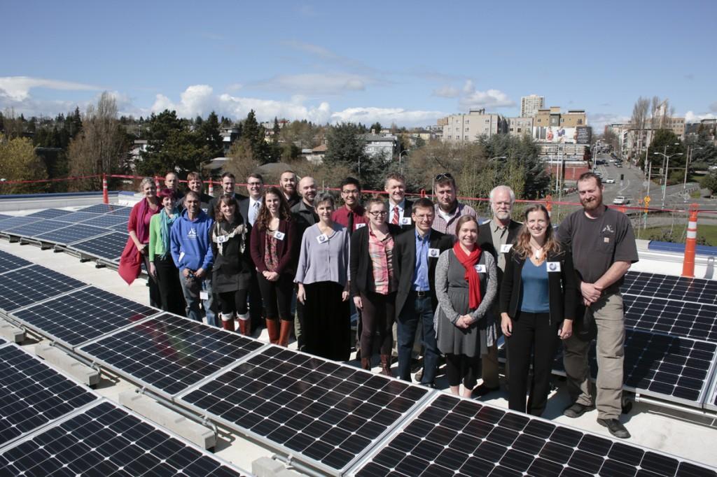 UW Solar panels