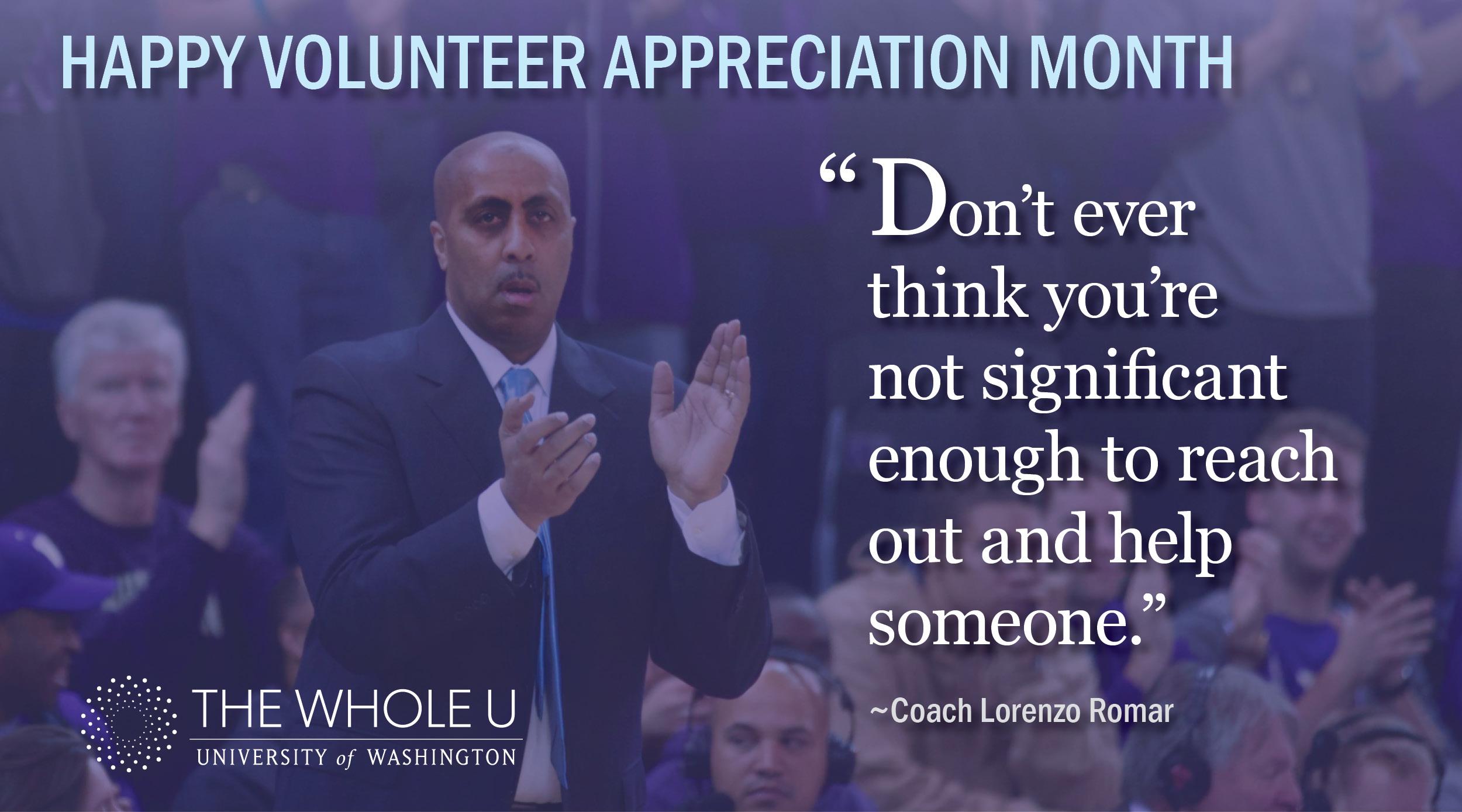 UW Volunteer