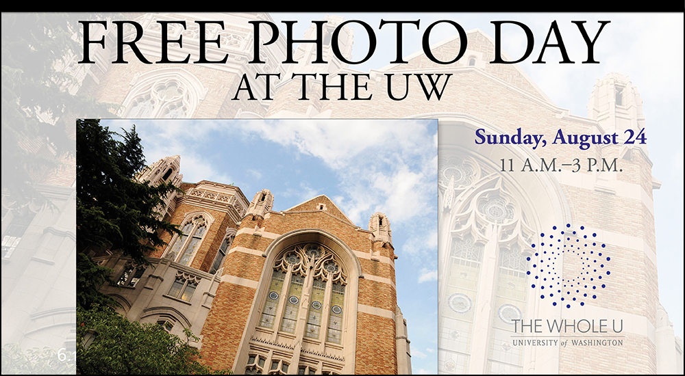 UW free photo day