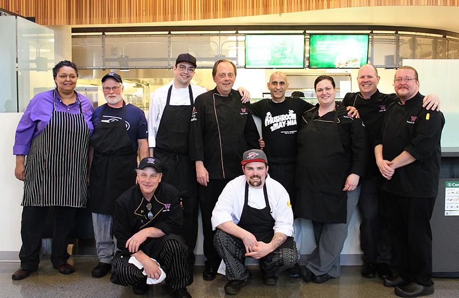 UW Dining staff