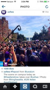the ellen show at uw