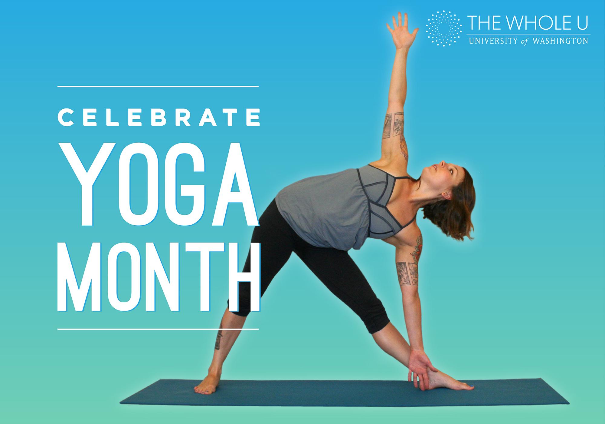 uw yoga month