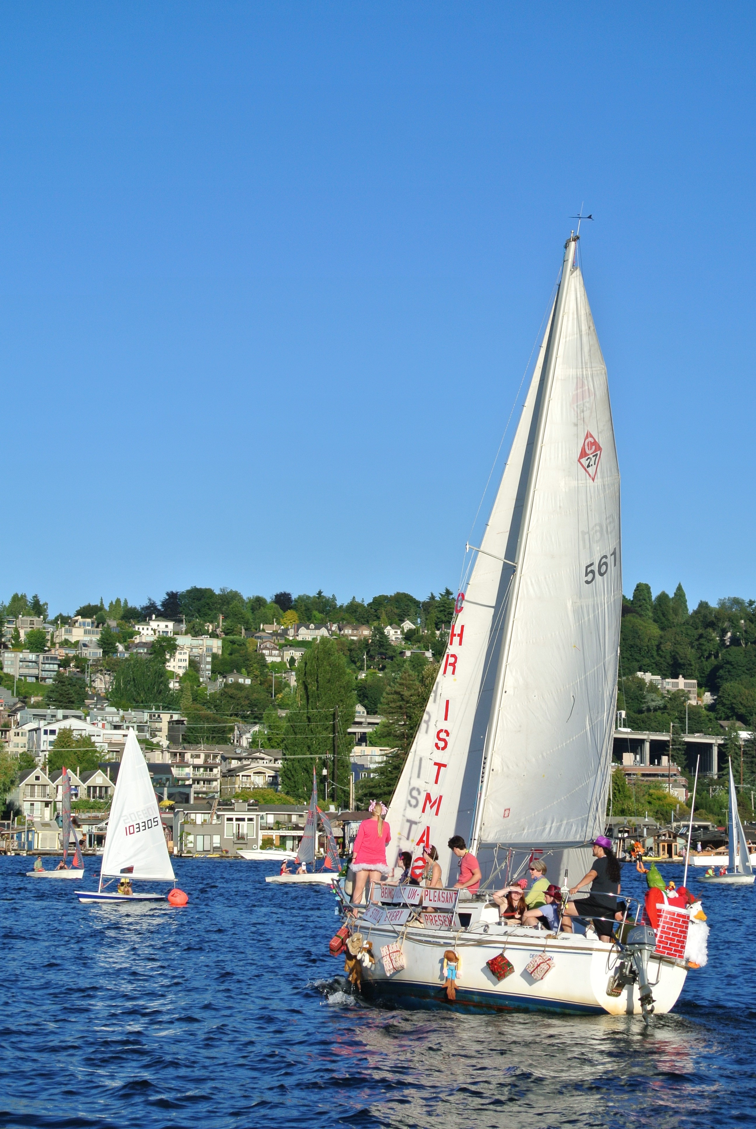 Perk Spotlight: Learning To Sail At UW