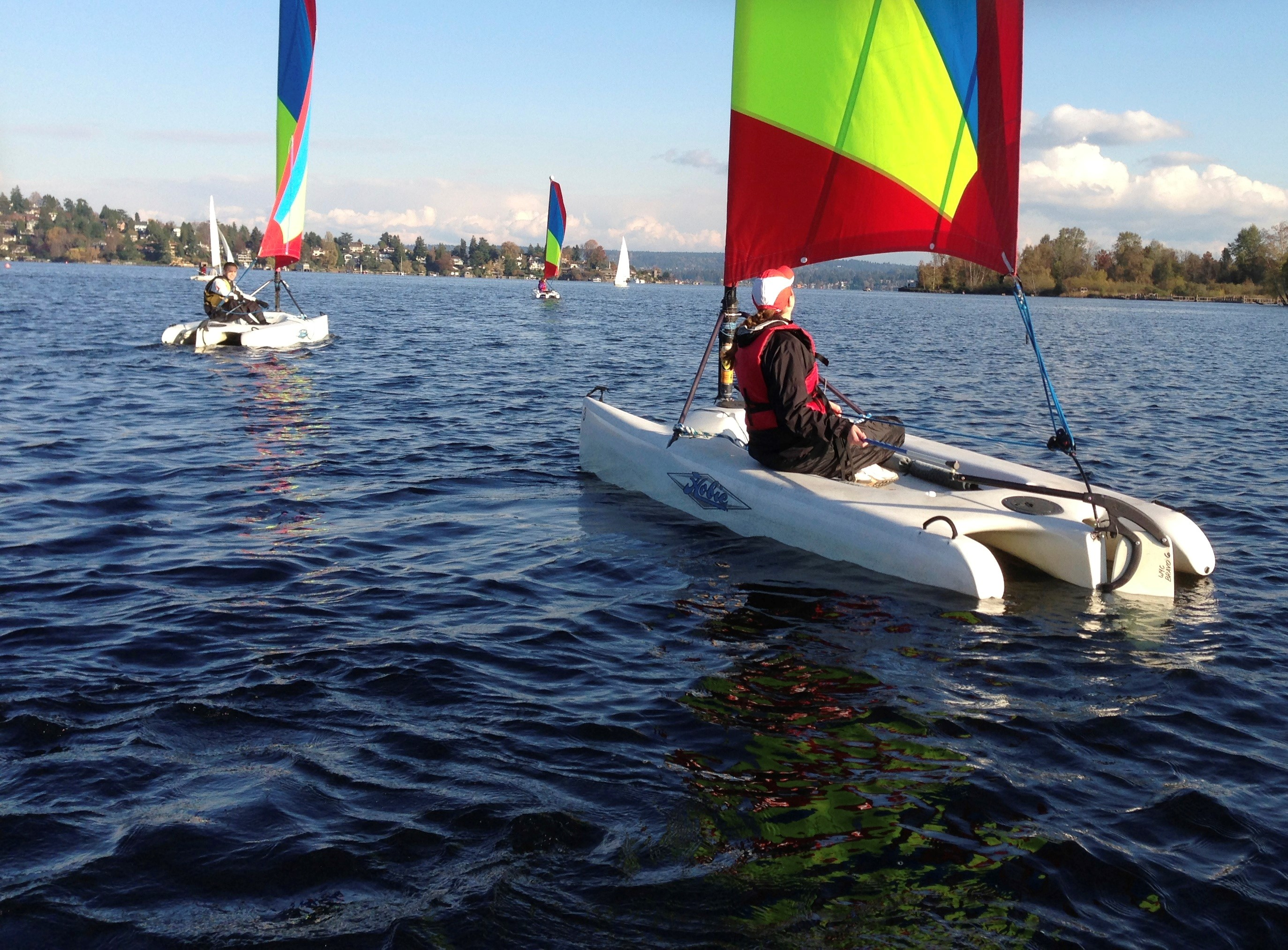 sailing at uw