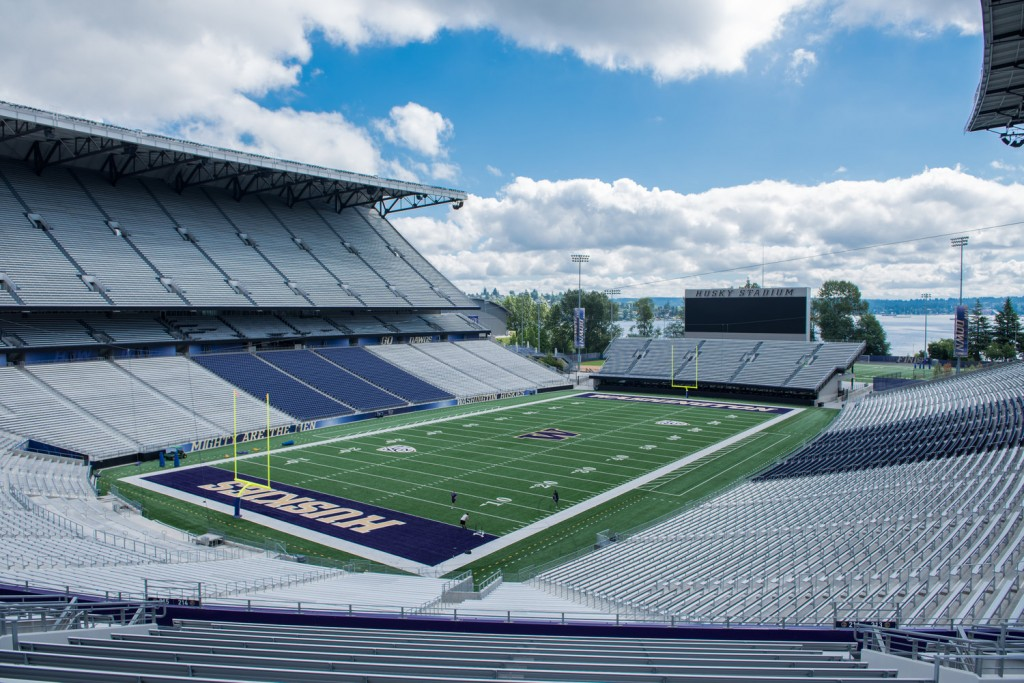 Location scouting for UW |