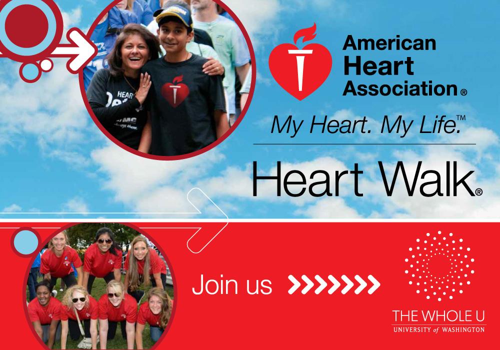 UW heart walk