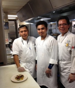Some of the Plaza Cafe's talented chefs!