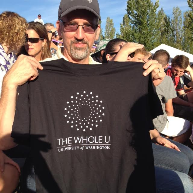 Random attendees received a Whole U t-shirt.