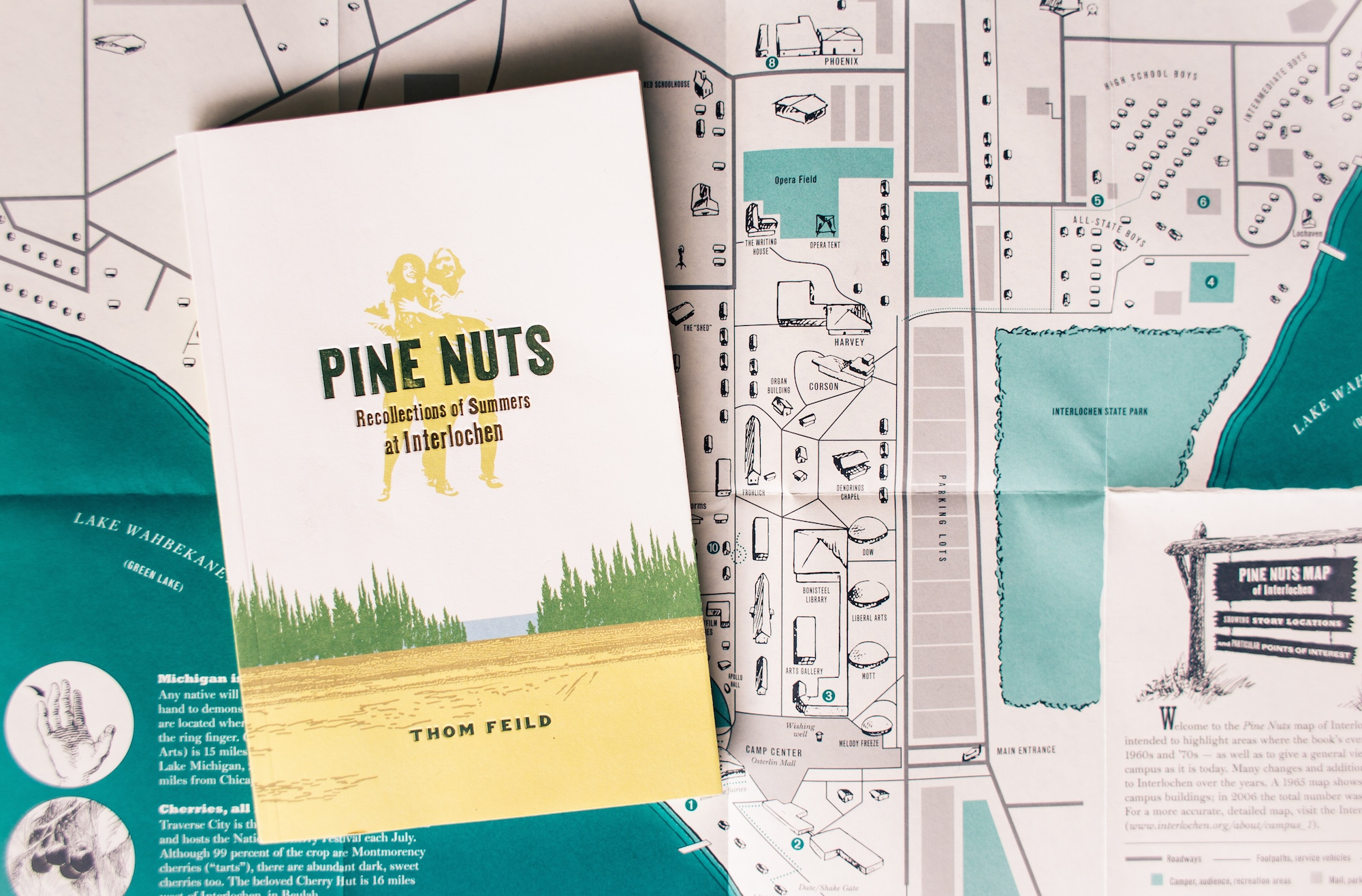 Pine Nuts book