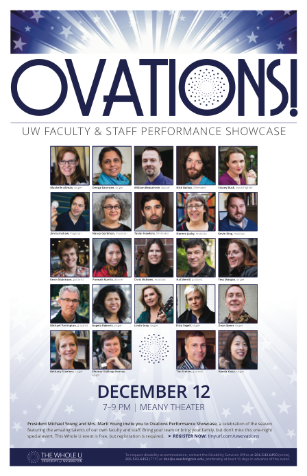 Ovations poster