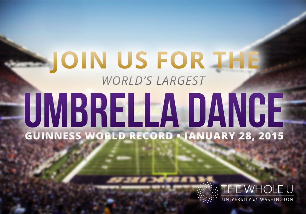 UW Guinness World Record, umbrella dance, uw umbrella dance