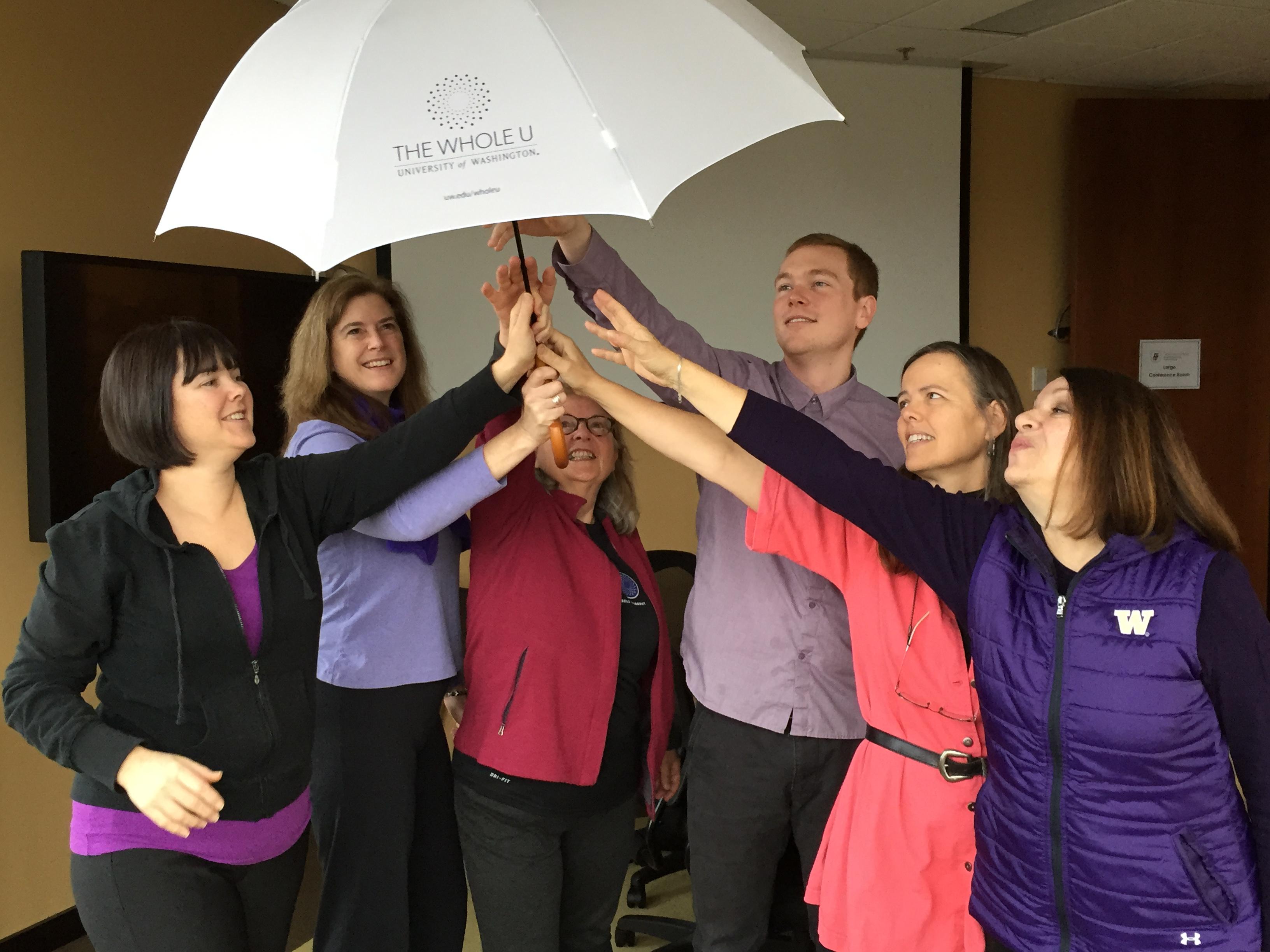 UW umbrella dance