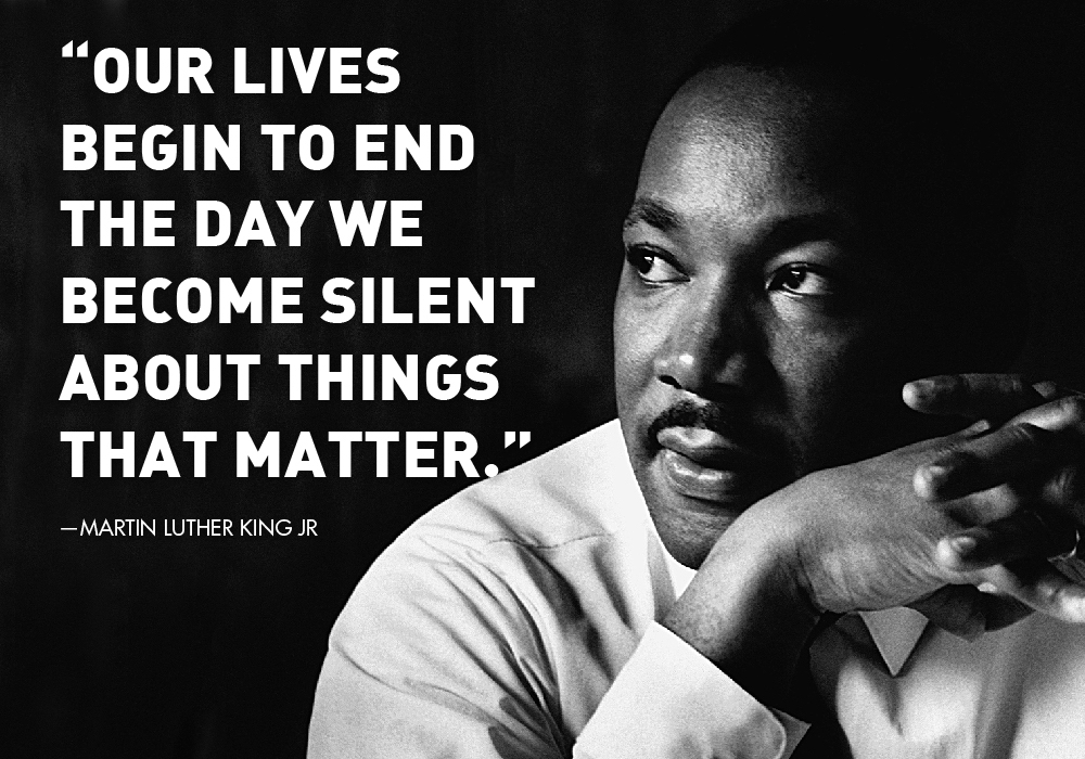 Remembering King's Vision on MLK Day