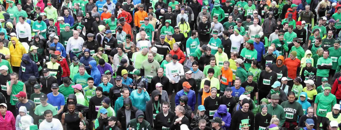 st pattys day dash