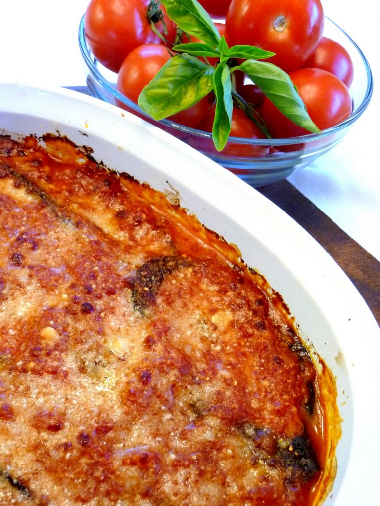 Light Eggplant Parmimgiana
