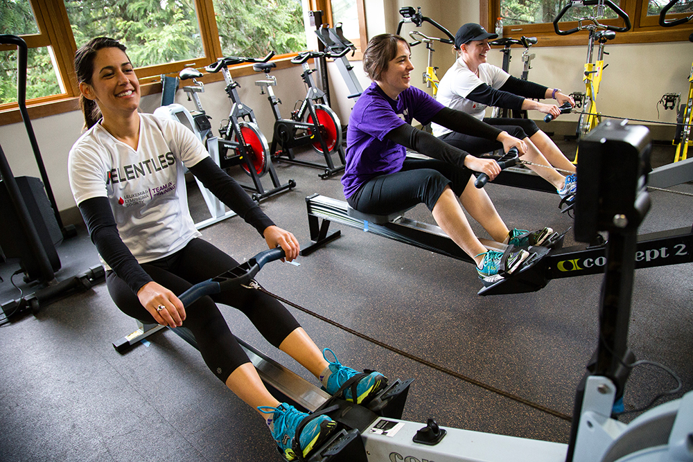 Girls on the Ergs