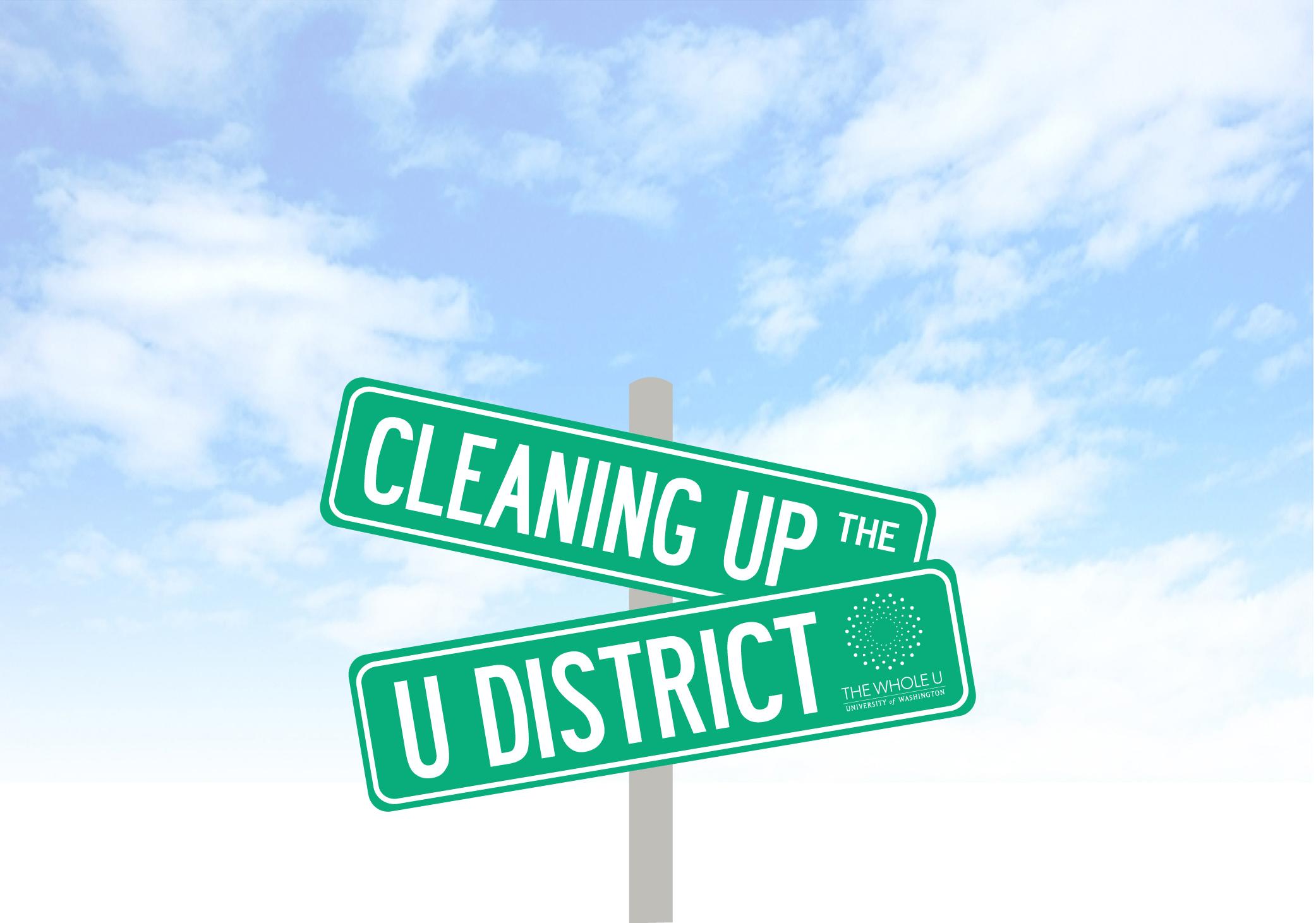 U district clean up