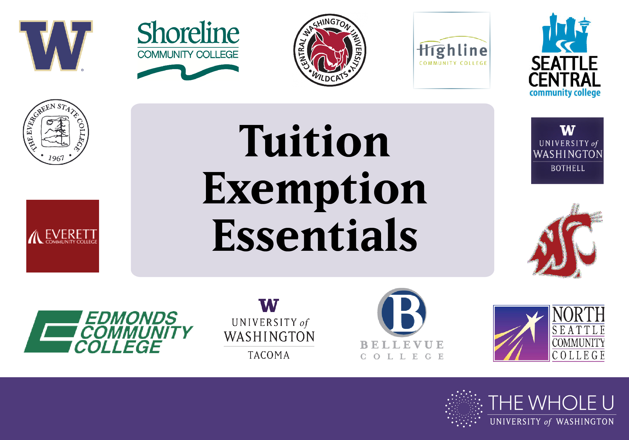 Tuition Exemption Essentials | The Whole U