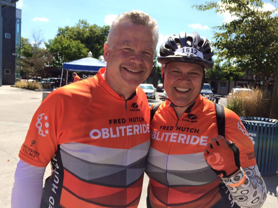 """I completed the Obliteride 150-mile ride last weekend. Nothing like riding a challenging and beautiful route AND raising money for lifesaving cancer research!"" Elizabeth Sanders"