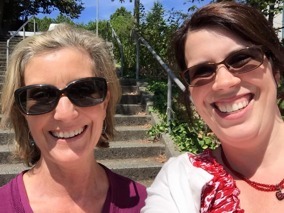 """""""My co-worker, Melissa and I combined for almost 2500 steps [during the stair challenge]! We were so excited since we thought 500 steps each was a realistic goal.""""Jennifer Snider, School of Law"""