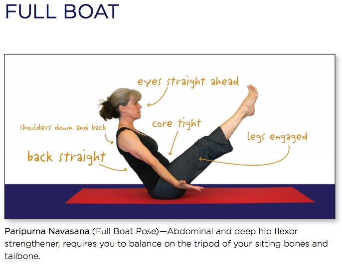 yoga full boat