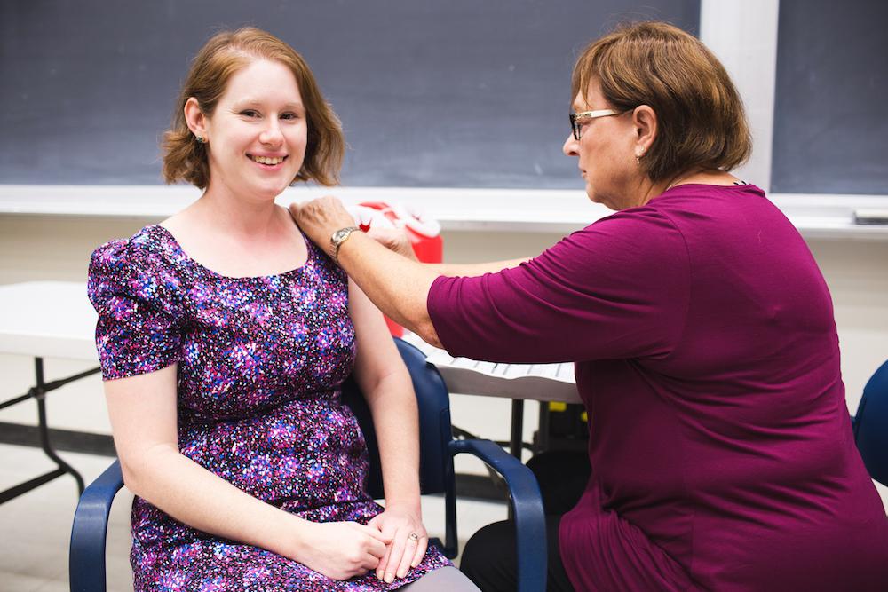 UW flu shots
