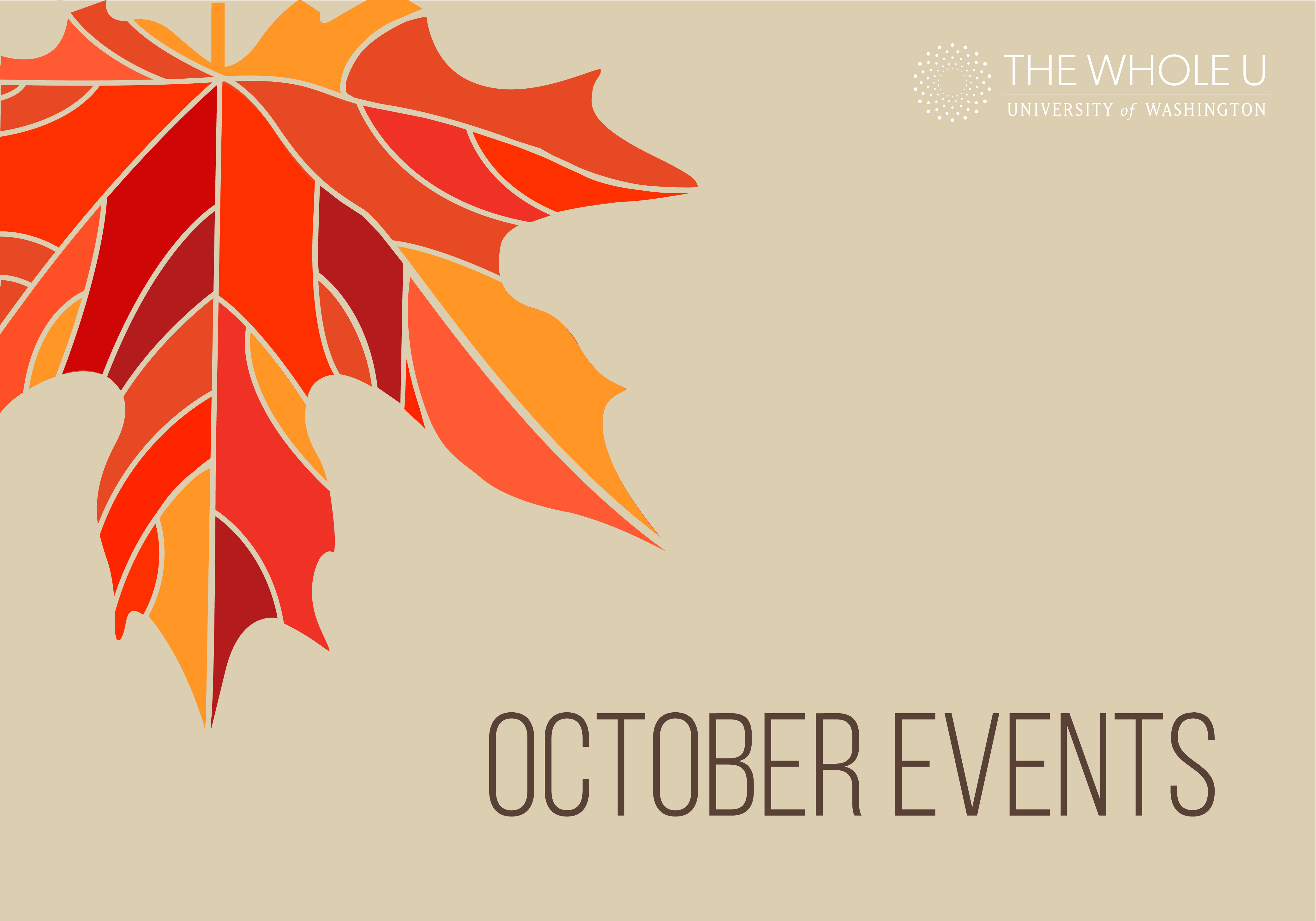 9 October Events The Whole U