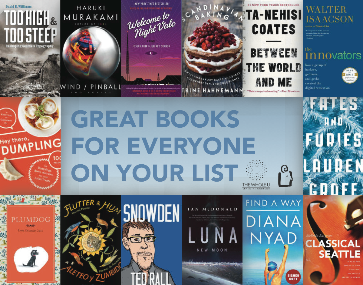Great books for Holiday gifts