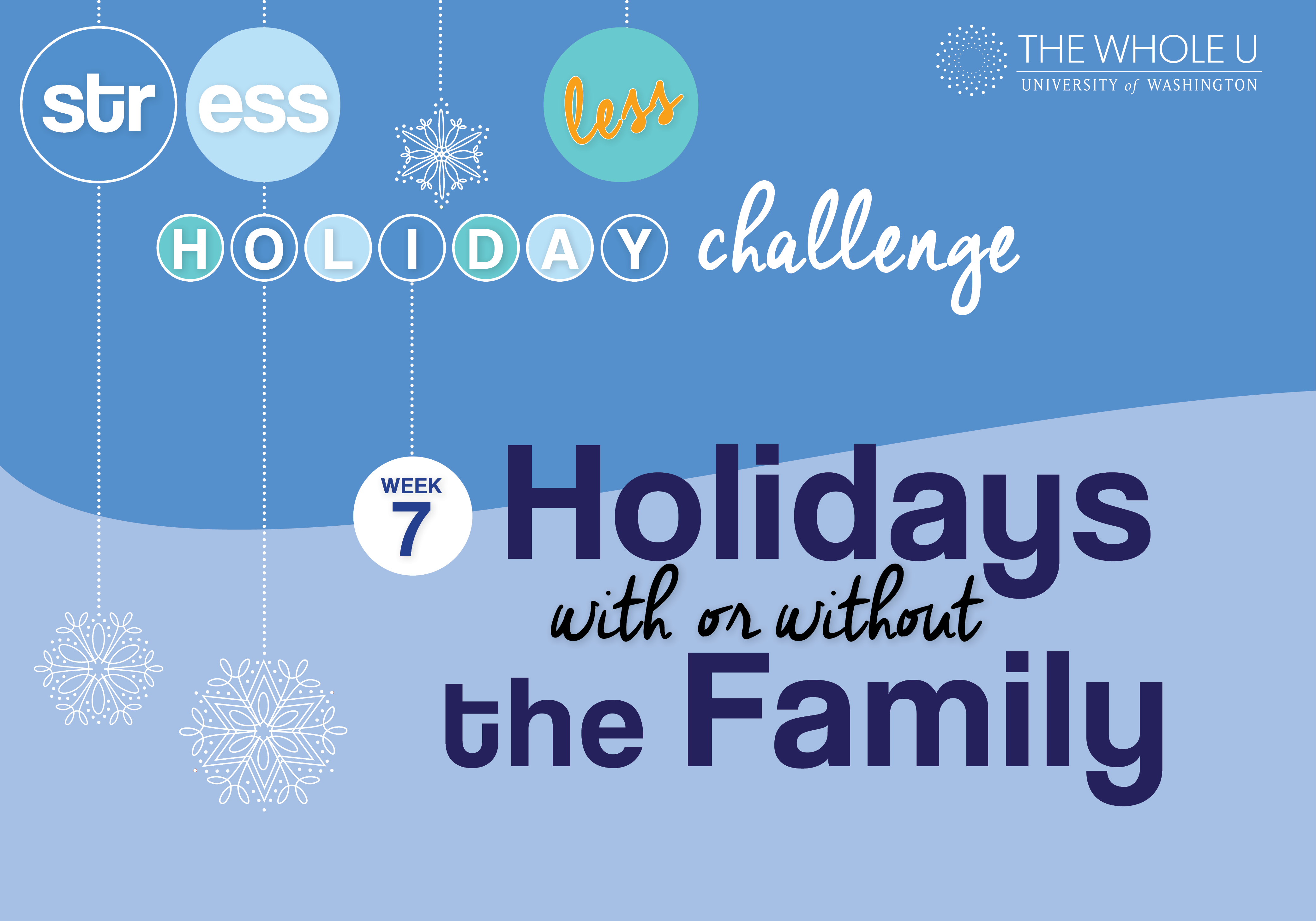 holidays without family