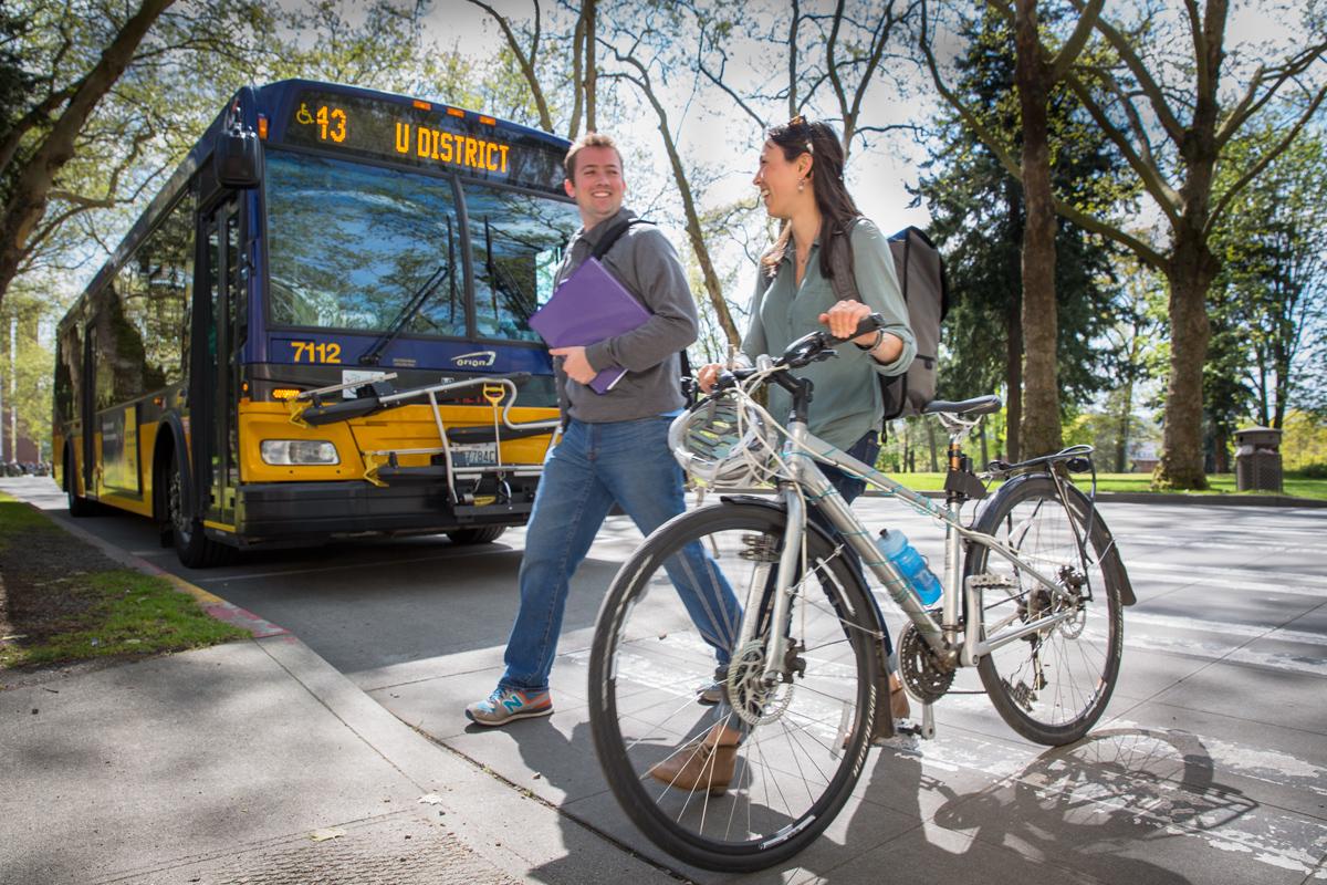 10 ways transit improved UW 2015