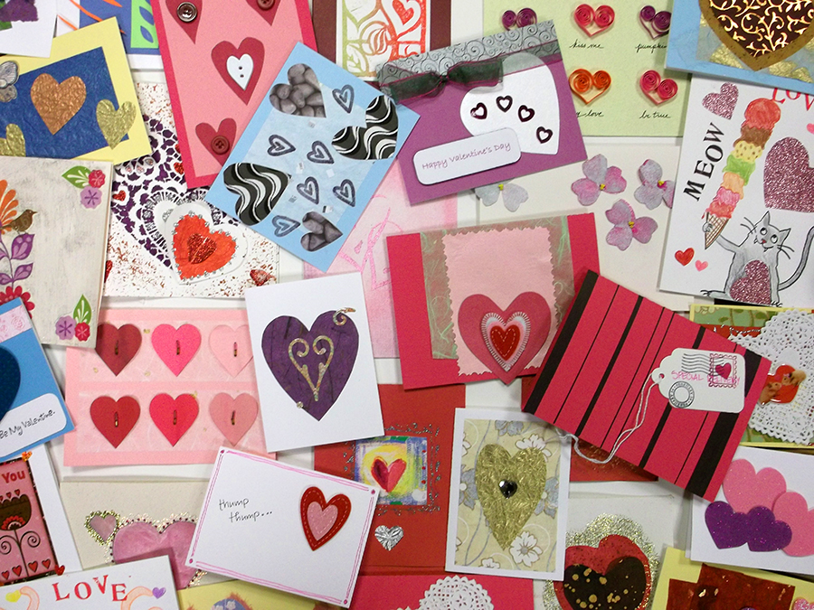 Sweeten a Patients Day by Making Valentines – Making Valentines Card