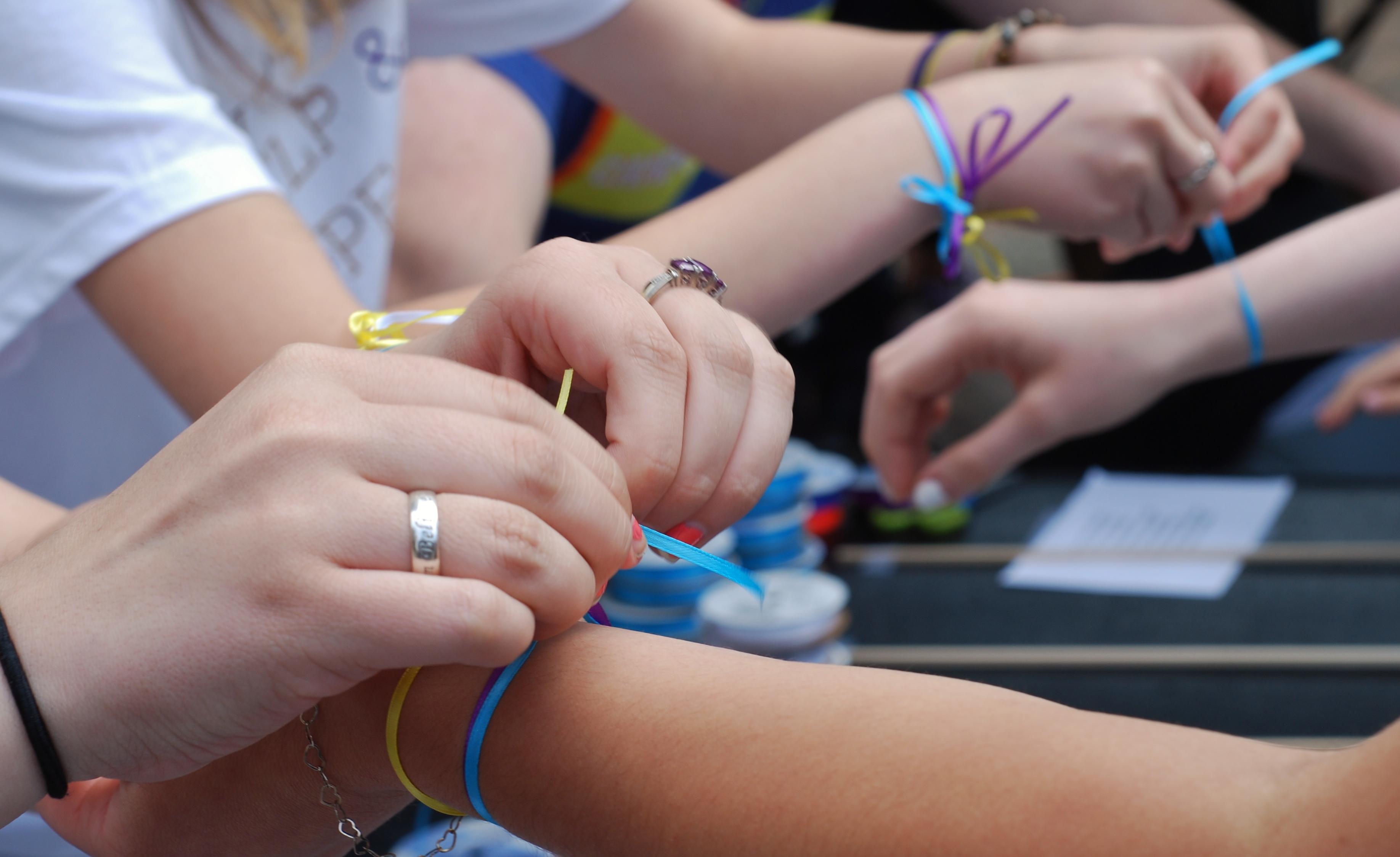 H3 Wrist ribbons