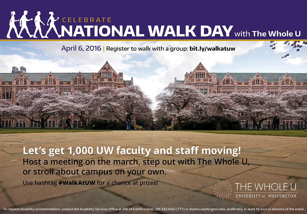 UW National Walk Day