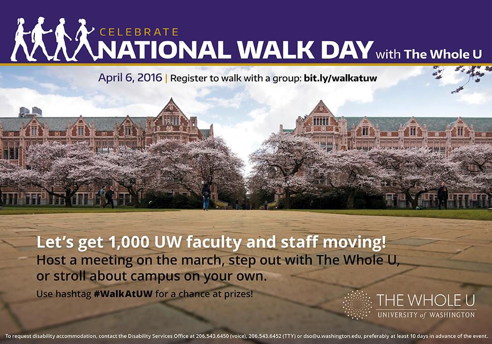 UW National Walk Day