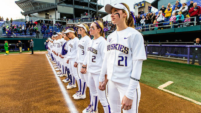 Husky softball