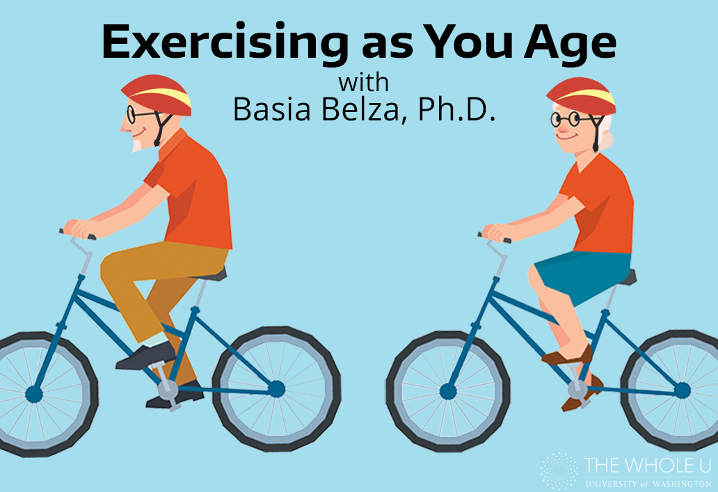 Basia Belza, exercising as you age
