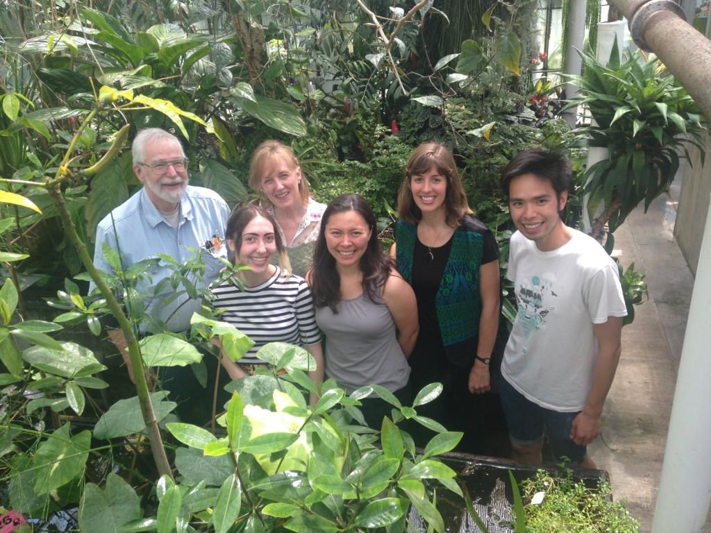 UW greenhouse staff