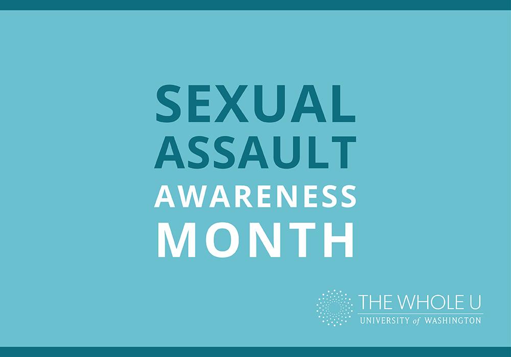 UW sexual assault awareness month
