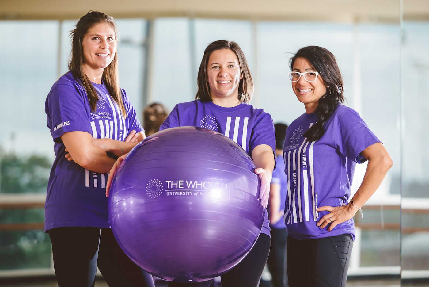 World's Largest Exercise Ball Workout