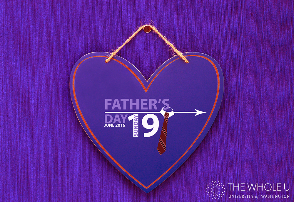 Father's Day June 19, 2016 Blue Heart