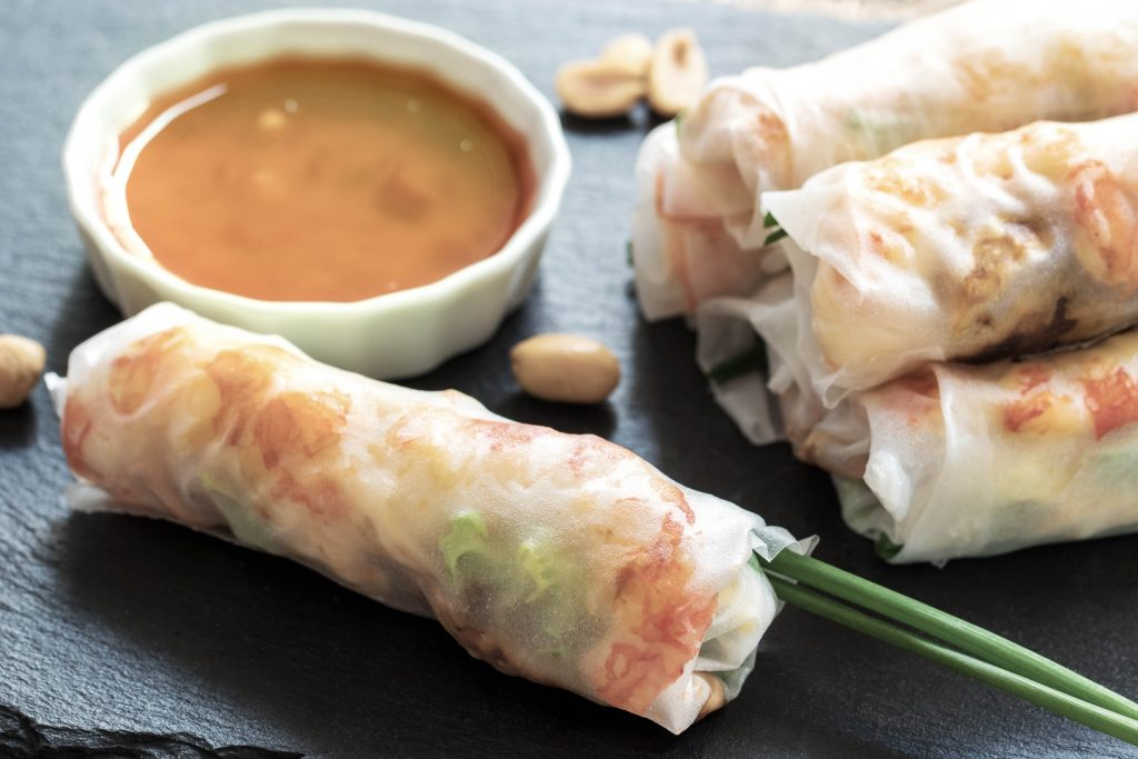 How to Make Gỏi Cuốn, Vietnamese Spring Rolls | The Whole U