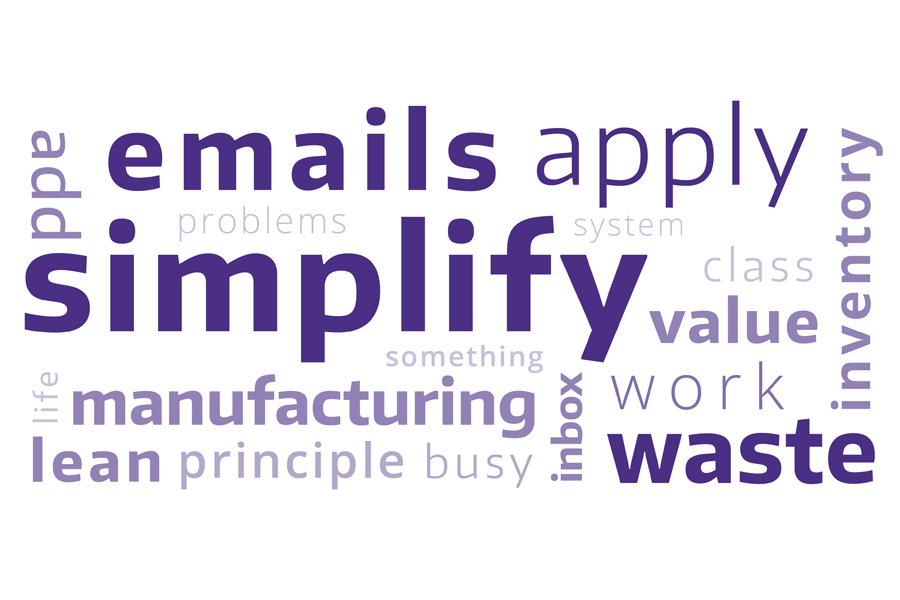 Using Lean Manufacturing Principles To Simplify Life The Whole U